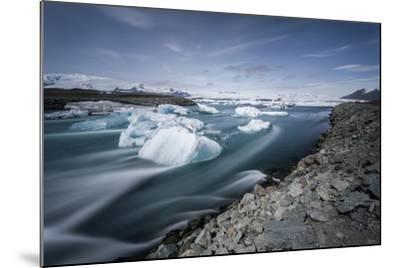 Jokulsarlon, Iceland, Polar Regions-Bill Ward-Mounted Photographic Print