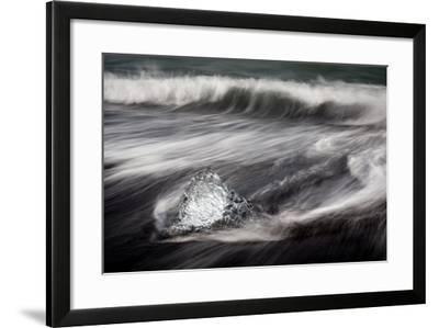 Jokulsarlon, Iceland, Polar Regions-Bill Ward-Framed Photographic Print