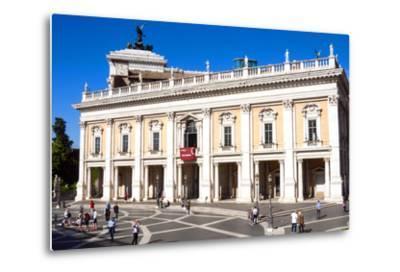 Palazzo Nuovo, Campidoglio, Capitoline Hill, UNESCO World Heritage Site, Rome, Lazio, Italy, Europe-Nico Tondini-Metal Print