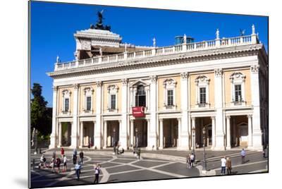 Palazzo Nuovo, Campidoglio, Capitoline Hill, UNESCO World Heritage Site, Rome, Lazio, Italy, Europe-Nico Tondini-Mounted Photographic Print