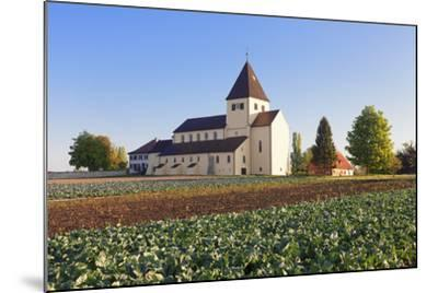 St. Georg Church, Oberzell, UNESCO World Heritage Site, Reichenau Island, Lake Constance-Markus Lange-Mounted Photographic Print