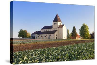 St. Georg Church, Oberzell, UNESCO World Heritage Site, Reichenau Island, Lake Constance-Markus Lange-Stretched Canvas Print