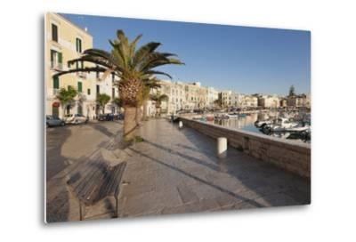 Promenade at the Harbour, Old Town, Trani, Le Murge, Barletta-Andria-Trani District-Markus Lange-Metal Print