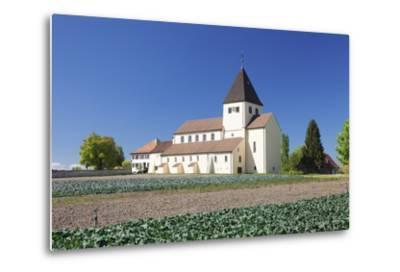 St. Georg Church, Oberzell, UNESCO World Heritage Site, Reichenau Island, Lake Constance-Markus Lange-Metal Print