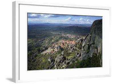 View from the Castle of the Medieval Village of Monsanto in the Municipality of Idanha-A-Nova-Alex Robinson-Framed Photographic Print