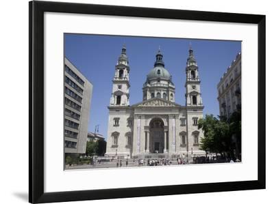 St. Stephen's Basilica, the Largest Church in Budapest, Hungary, Europe-Julian Pottage-Framed Photographic Print