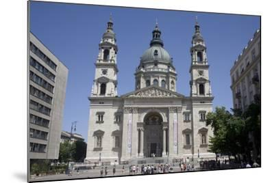 St. Stephen's Basilica, the Largest Church in Budapest, Hungary, Europe-Julian Pottage-Mounted Photographic Print