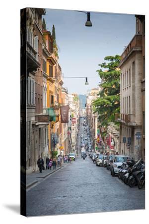 Via Sistina, Rome, Lazio, Latium, Italy, Europe-Frank Fell-Stretched Canvas Print