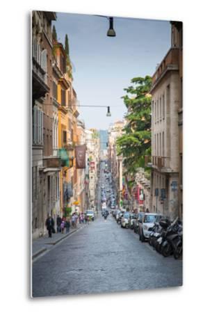 Via Sistina, Rome, Lazio, Latium, Italy, Europe-Frank Fell-Metal Print