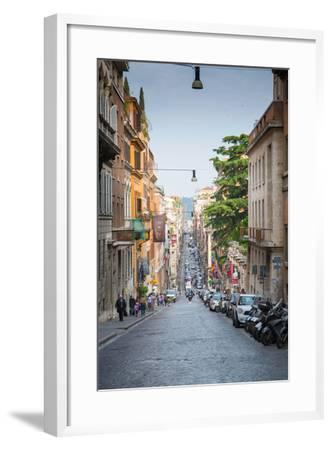 Via Sistina, Rome, Lazio, Latium, Italy, Europe-Frank Fell-Framed Photographic Print