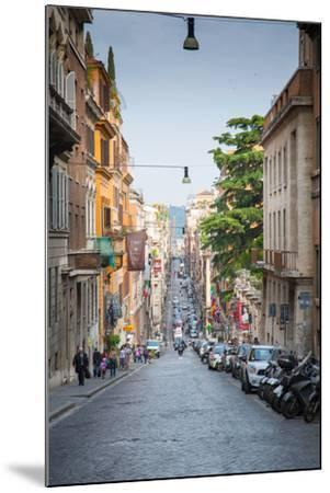 Via Sistina, Rome, Lazio, Latium, Italy, Europe-Frank Fell-Mounted Photographic Print