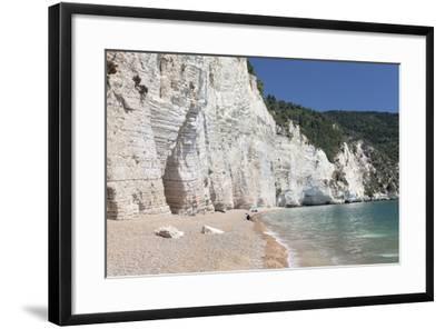 Vignanotica Bay Between Mattinata and Vieste, Gargano, Foggia Province, Puglia, Italy, Europe-Markus Lange-Framed Photographic Print