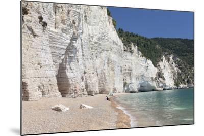 Vignanotica Bay Between Mattinata and Vieste, Gargano, Foggia Province, Puglia, Italy, Europe-Markus Lange-Mounted Photographic Print