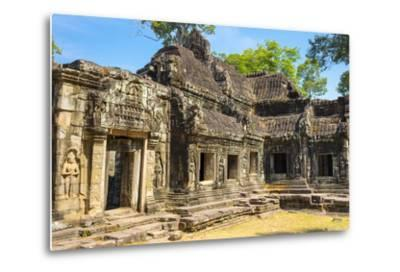 Banteay Kdei Temple, Angkor, UNESCO World Heritage Site, Siem Reap Province, Cambodia-Jason Langley-Metal Print