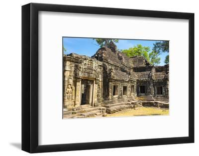 Banteay Kdei Temple, Angkor, UNESCO World Heritage Site, Siem Reap Province, Cambodia-Jason Langley-Framed Photographic Print
