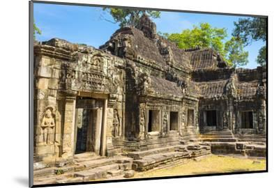 Banteay Kdei Temple, Angkor, UNESCO World Heritage Site, Siem Reap Province, Cambodia-Jason Langley-Mounted Photographic Print