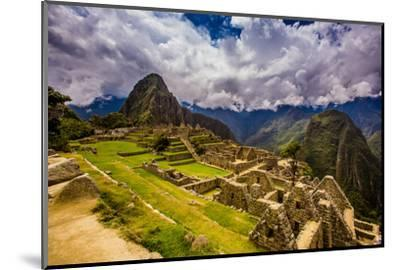 Machu Picchu Incan Ruins, UNESCO World Heritage Site, Sacred Valley, Peru, South America-Laura Grier-Mounted Photographic Print