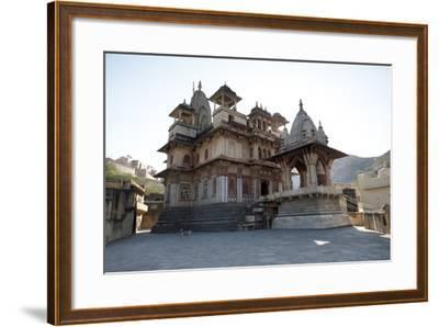 The Jagat Shiromani Hindu Temple, Dedicated to Shiva, Krishna and Meera Bhai-Annie Owen-Framed Photographic Print
