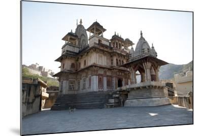The Jagat Shiromani Hindu Temple, Dedicated to Shiva, Krishna and Meera Bhai-Annie Owen-Mounted Photographic Print