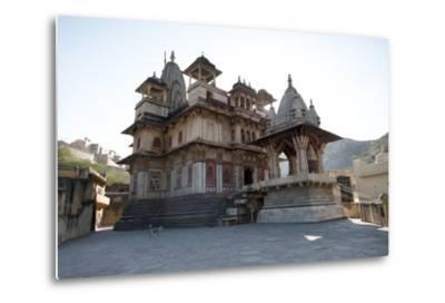 The Jagat Shiromani Hindu Temple, Dedicated to Shiva, Krishna and Meera Bhai-Annie Owen-Metal Print