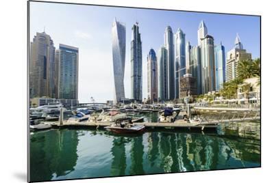 Dubai Marina, Dubai, United Arab Emirates, Middle East-Fraser Hall-Mounted Photographic Print