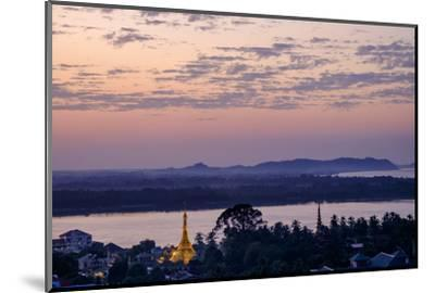 River Salouen (Thanlwin) from View Point, Mawlamyine (Moulmein), Myanmar (Burma), Asia-Nathalie Cuvelier-Mounted Photographic Print