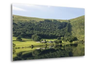 Lakeland Farm by Wastwater, Early Morning, Wasdale, Lake District National Park, Cumbria-James Emmerson-Metal Print
