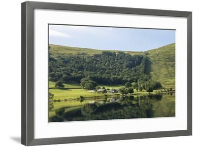Lakeland Farm by Wastwater, Early Morning, Wasdale, Lake District National Park, Cumbria-James Emmerson-Framed Photographic Print