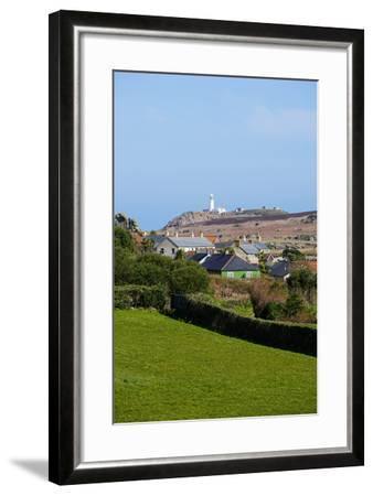 Lighthouse, Isles of Scilly, England, United Kingdom, Europe-Robert Harding-Framed Photographic Print