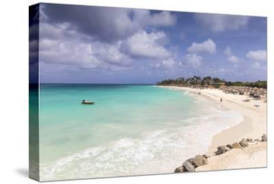 View of Divi Beach, Aruba, Lesser Antilles, Netherlands Antilles, Caribbean, Central America-Jane Sweeney-Stretched Canvas Print