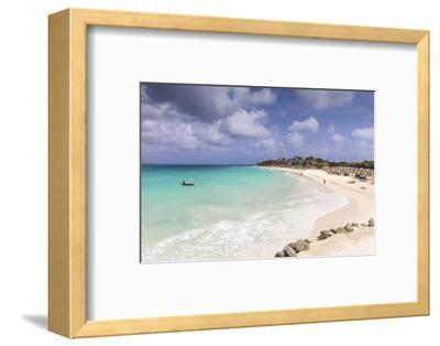 View of Divi Beach, Aruba, Lesser Antilles, Netherlands Antilles, Caribbean, Central America-Jane Sweeney-Framed Photographic Print