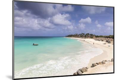 View of Divi Beach, Aruba, Lesser Antilles, Netherlands Antilles, Caribbean, Central America-Jane Sweeney-Mounted Photographic Print