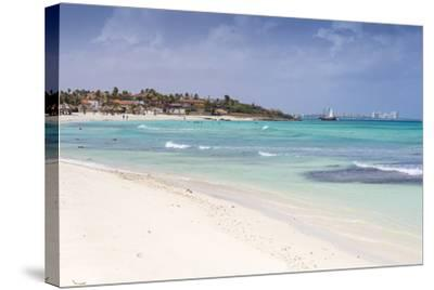 Arashi Beach, Aruba, Lesser Antilles, Netherlands Antilles, Caribbean, Central America-Jane Sweeney-Stretched Canvas Print