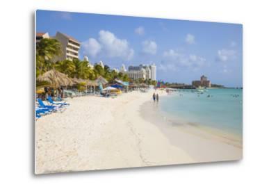 Palm Beach, Aruba, Netherlands Antilles, Caribbean, Central America-Jane Sweeney-Metal Print