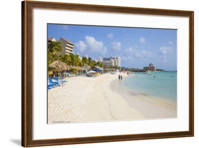 Palm Beach, Aruba, Netherlands Antilles, Caribbean, Central America-Jane Sweeney-Framed Photographic Print