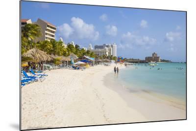 Palm Beach, Aruba, Netherlands Antilles, Caribbean, Central America-Jane Sweeney-Mounted Photographic Print