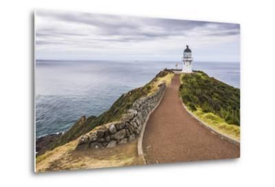Cape Reinga Lighthouse (Te Rerenga Wairua Lighthouse), Aupouri Peninsula, Northland-Matthew Williams-Ellis-Metal Print
