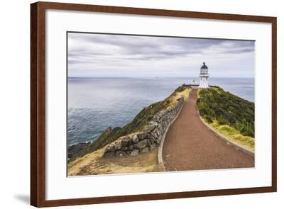 Cape Reinga Lighthouse (Te Rerenga Wairua Lighthouse), Aupouri Peninsula, Northland-Matthew Williams-Ellis-Framed Photographic Print
