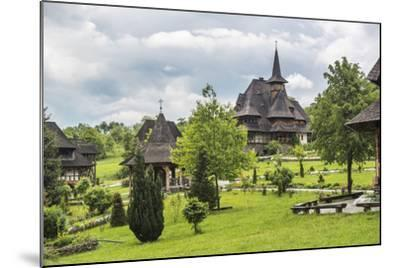 Barsana Monastery, One of the Wooden Churches of Maramures, UNESCO World Heritage Site-Matthew Williams-Ellis-Mounted Photographic Print