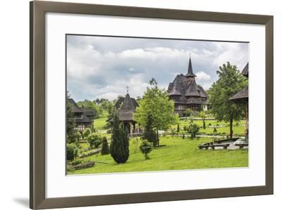 Barsana Monastery, One of the Wooden Churches of Maramures, UNESCO World Heritage Site-Matthew Williams-Ellis-Framed Photographic Print