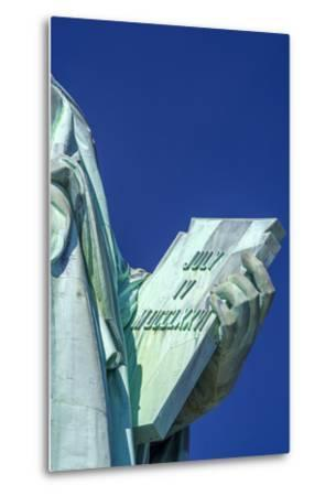 Statue of Liberty, Liberty Island, Manhattan, New York, United States of America, North America-Alan Copson-Metal Print