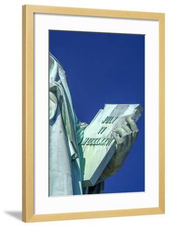 Statue of Liberty, Liberty Island, Manhattan, New York, United States of America, North America-Alan Copson-Framed Photographic Print