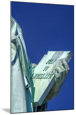 Statue of Liberty, Liberty Island, Manhattan, New York, United States of America, North America-Alan Copson-Mounted Photographic Print