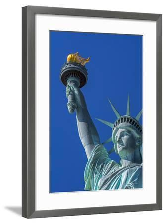 Statue of Liberty, Liberty Island, Manhattan, New York, United States of America, North America-Alan Copson-Framed Photographic Print
