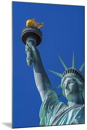 Statue of Liberty, Liberty Island, Manhattan, New York, United States of America, North America-Alan Copson-Mounted Photographic Print