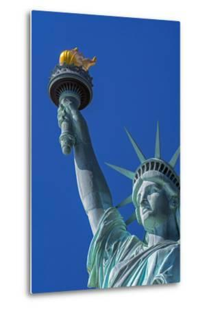 Statue of Liberty, Liberty Island, Manhattan, New York, United States of America, North America-Alan Copson-Metal Print