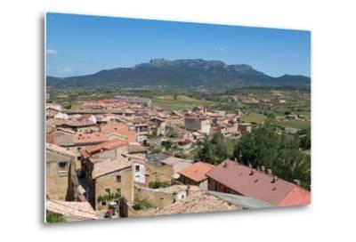 Rooftops in San Vicente De La Sonsierra, La Rioja, Spain, Europe-Martin Child-Metal Print