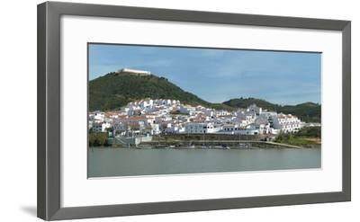 Sanlucar De Guadiana Village Seen from the Portuguese City Alcoutim, Spain, Europe-G&M Therin-Weise-Framed Photographic Print