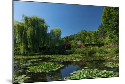 Monet's House Behind the Waterlily Pond, Giverny, Normandy, France, Europe-James Strachan-Mounted Photographic Print