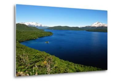Silver Lake, Patagonia, Argentina, South America-Pablo Cersosimo-Metal Print